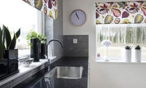 Занавески на кухню фото 2015 современные своими